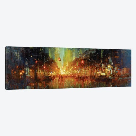 NYC - Central Park West Canvas Print #CCK102} by Christopher Clark Art Print