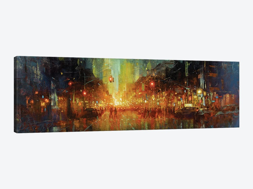 Nyc Central Park West Canvas Art By Christopher Clark Icanvas