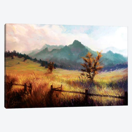 Flatiron Mountains Canvas Print #CCK118} by Christopher Clark Canvas Art
