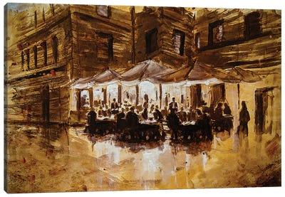 Sepia Tone Italy I Canvas Art Print