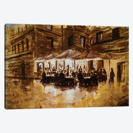 Sepia Tone Italy I Canvas Print #CCK125} by Christopher Clark Canvas Wall Art