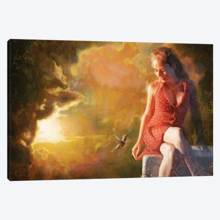 Edge Of Oblivion Canvas Print #CCK16} by Christopher Clark Canvas Wall Art