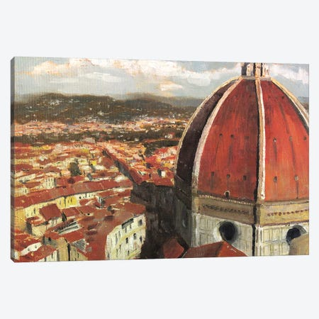 Florence, Italy - Il Duomo Canvas Print #CCK19} by Christopher Clark Canvas Print