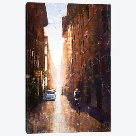 Alleyway In Rome Canvas Print #CCK1} by Christopher Clark Canvas Print