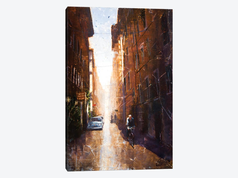 Alleyway In Rome by Christopher Clark 1-piece Canvas Art Print
