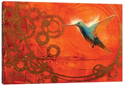 Hummingbird's Journey Canvas Art Print