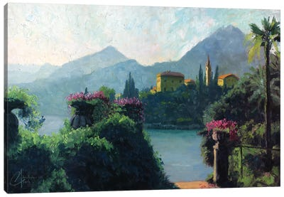 Lake Como, Italy Canvas Art Print
