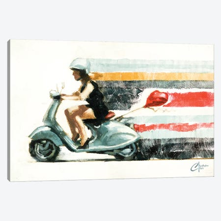 Last Chance At Love II Canvas Print #CCK43} by Christopher Clark Canvas Wall Art