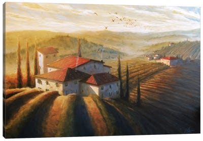 Lifestyle Of Tuscany II Canvas Art Print