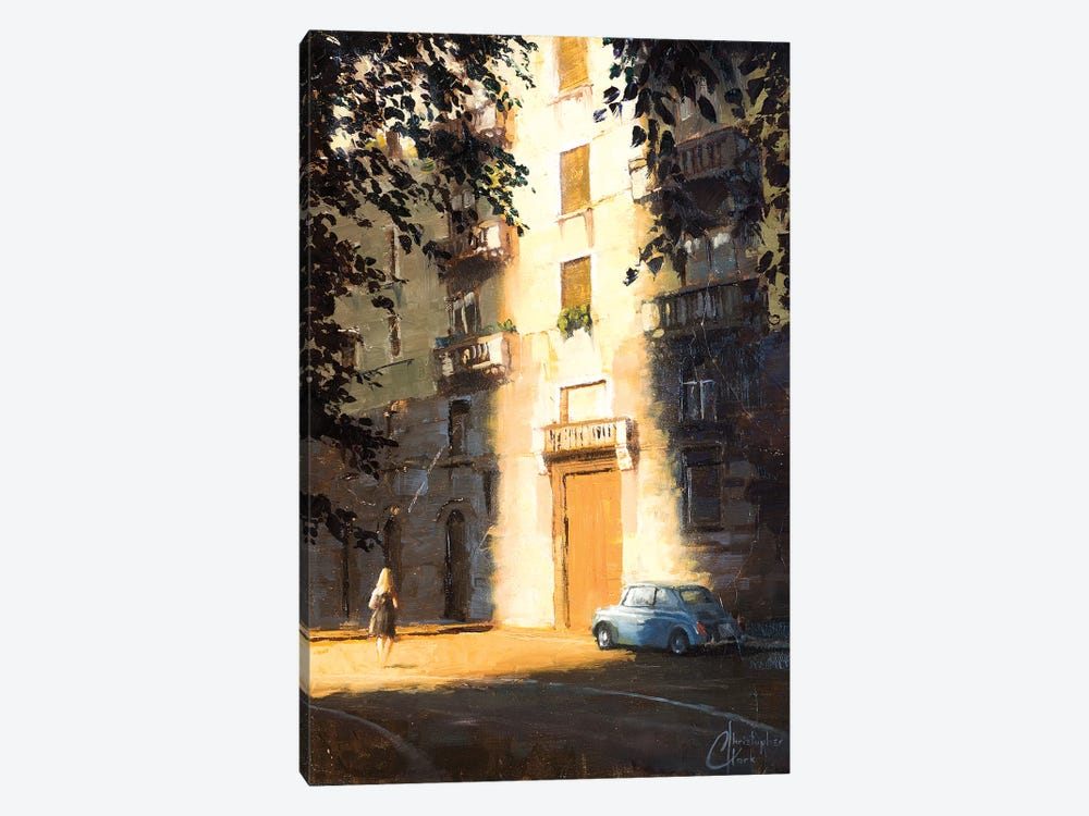 Milan In The Shadows by Christopher Clark 1-piece Canvas Art