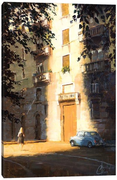 Milan In The Shadows Canvas Art Print