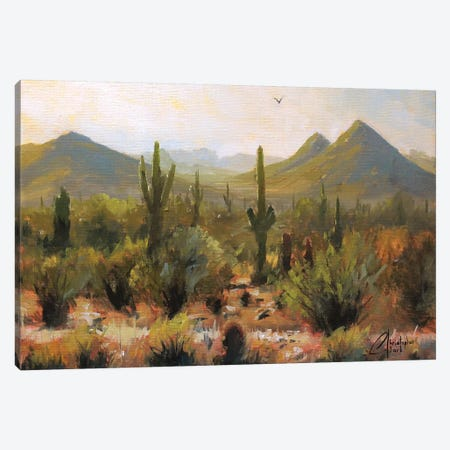 Morning At Lost Dog Wash Trail Canvas Print #CCK50} by Christopher Clark Canvas Art Print