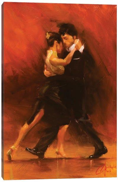 Red Tango II Canvas Art Print