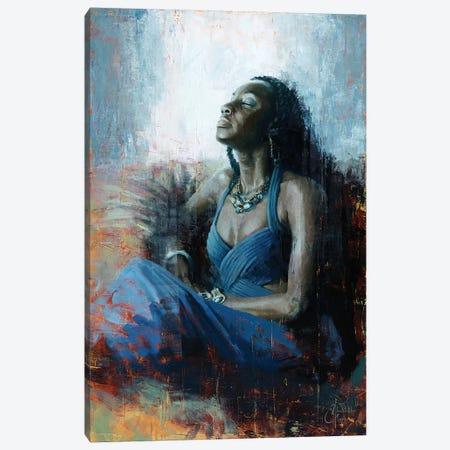 Regal Blue Canvas Print #CCK58} by Christopher Clark Canvas Art Print