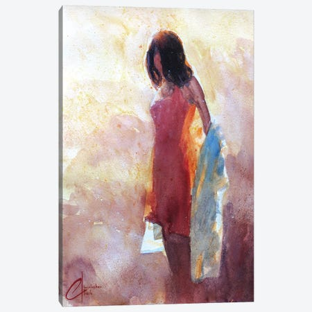 Soft Beauty Canvas Print #CCK63} by Christopher Clark Canvas Art
