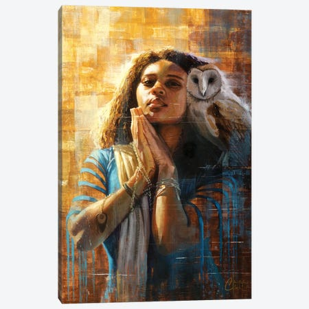 The Goddess Of Wisdom Canvas Print #CCK67} by Christopher Clark Canvas Art Print