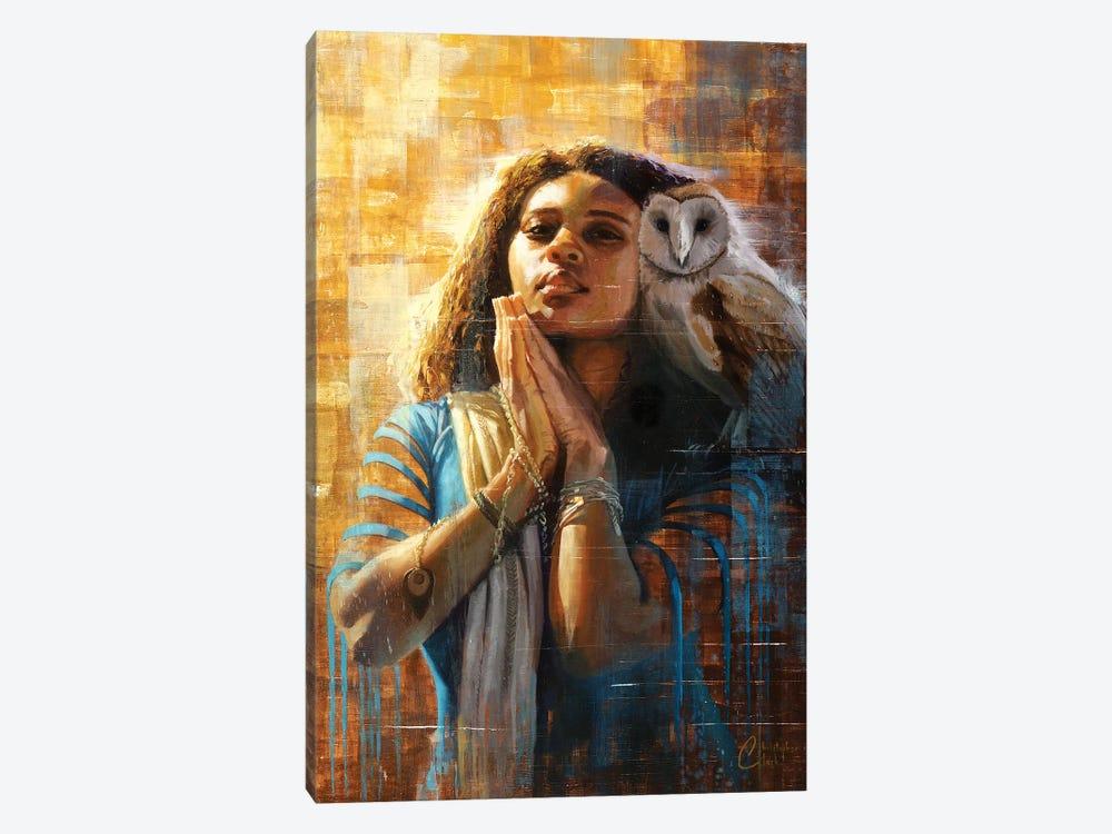 The Goddess Of Wisdom by Christopher Clark 1-piece Canvas Art Print