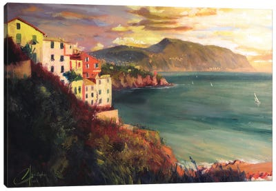 The West Coast Of Italy Canvas Art Print