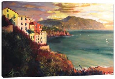 The West Coast Of Italy Canvas Art Print