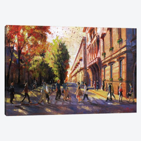 Torino, Italy, Ordinary People Canvas Print #CCK72} by Christopher Clark Art Print