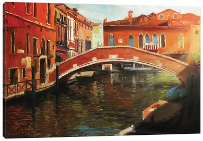 Venice In The Afternoon Canvas Art Print