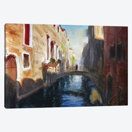 Venice, Italy - Romance Canvas Print #CCK79} by Christopher Clark Canvas Art Print