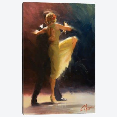 Blue Tango Canvas Print #CCK7} by Christopher Clark Canvas Artwork