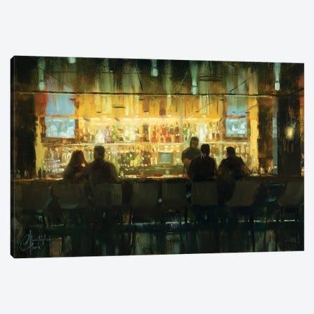 Crimson Room Canvas Print #CCK8} by Christopher Clark Art Print