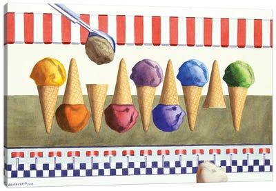 Ice Cream Shoppe Canvas Art Print