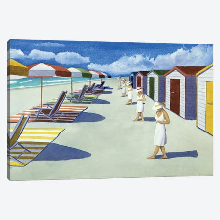Starting A Day At The Beach Canvas Print #CCL18} by Cory Clifford Canvas Artwork