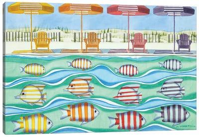 Tropical Syncronicity Canvas Art Print