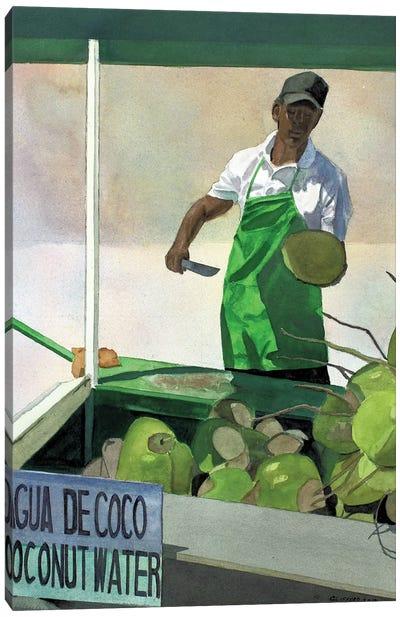 Agua De Coco Canvas Art Print