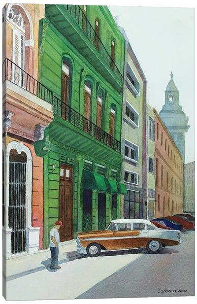 Bel Air In Havana Canvas Art Print