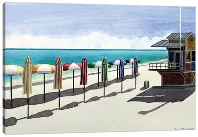 Lifeguard Station IV Canvas Art Print