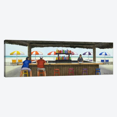 Beach Breakfast Canvas Print #CCL4} by Cory Clifford Canvas Print