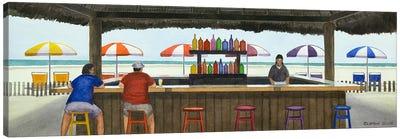 Beach Breakfast Canvas Art Print