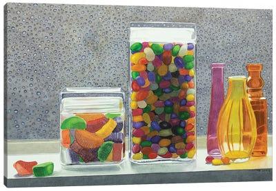 Candy Rain Canvas Art Print