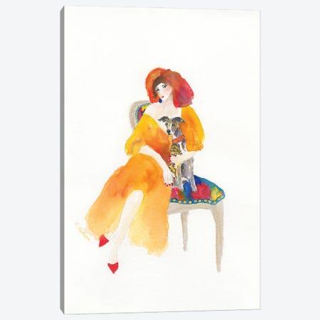 Dinner At Eight Canvas Print #CCM16} by Connie Collum Canvas Art