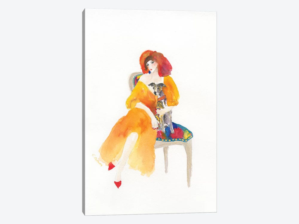 Dinner At Eight by Connie Collum 1-piece Art Print