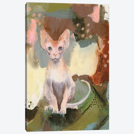 Forest Sphynx Canvas Print #CCM18} by Connie Collum Art Print