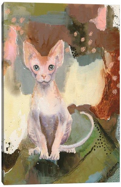 Forest Sphynx Canvas Art Print