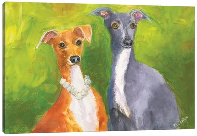 Friend Of Mine Canvas Art Print