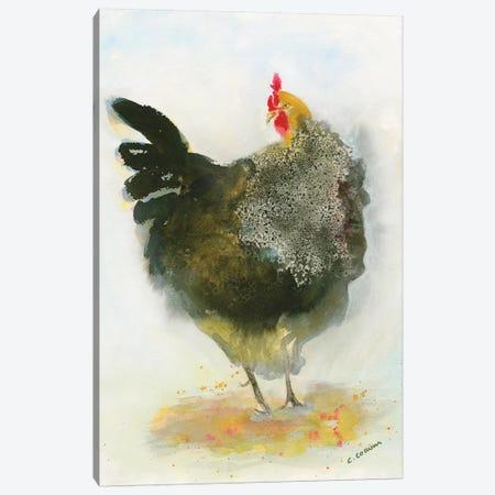 Hen No. 1 Canvas Print #CCM25} by Connie Collum Art Print