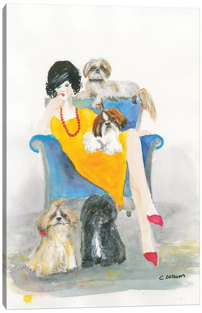 I Need Another Shih Tzu Canvas Art Print