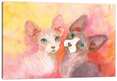 Love A Sphynx Canvas Art Print