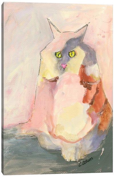 Melody Cat Canvas Art Print