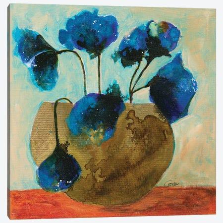 Azure For You Canvas Print #CCM4} by Connie Collum Canvas Artwork