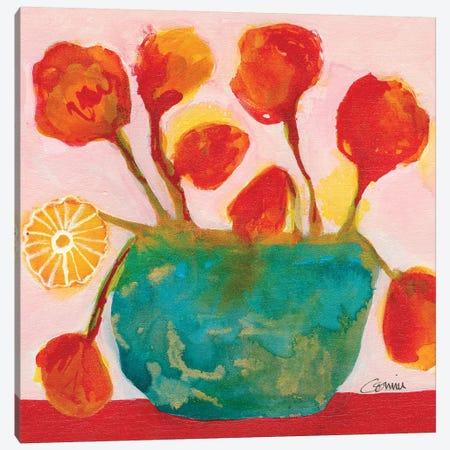 Summer Blossoms Canvas Print #CCM59} by Connie Collum Art Print