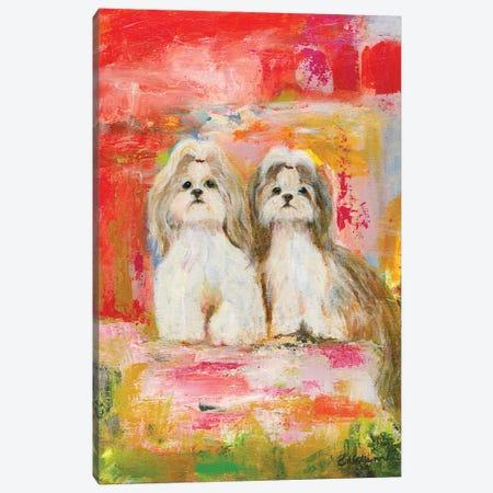 Best Friends Canvas Print #CCM5} by Connie Collum Canvas Art