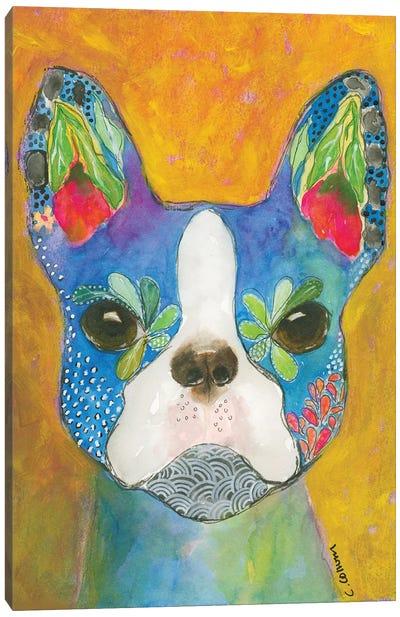 Boston Blue Canvas Art Print